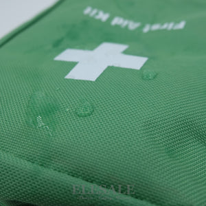 Green Water-Resistant First Aid Bag - Camping And Outdoor Supplies