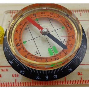 Scouts Orienteering Compass - Camping And Outdoor Supplies