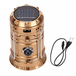 Rechargeable Solar Camping Lantern - Camping And Outdoor Supplies