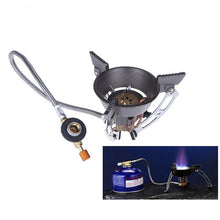 Load image into Gallery viewer, Windproof Stove Gas Burner - Camping And Outdoor Supplies