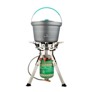 Windproof Portable Gas Stove - Camping And Outdoor Supplies
