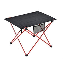 Load image into Gallery viewer, Furniture Red Folding Table - Camping And Outdoor Supplies