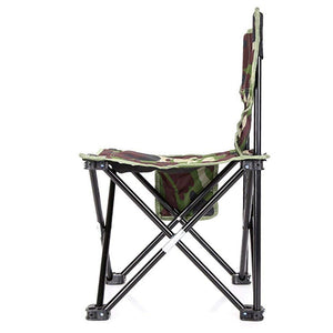 Camouflage Folding Stool - Camping And Outdoor Supplies