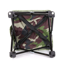 Load image into Gallery viewer, Camouflage Folding Stool - Camping And Outdoor Supplies
