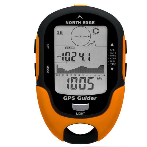 USB Rechargeable w/ Electronic Compass - Camping And Outdoor Supplies