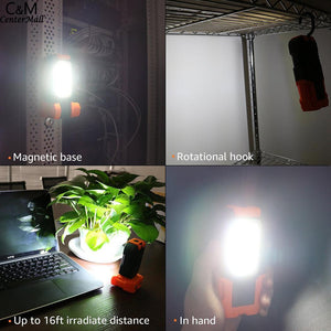 Emergency Work Orange Camping Light - Camping And Outdoor Supplies