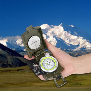 Military Waterproof High Accuracy Compass - Camping And Outdoor Supplies