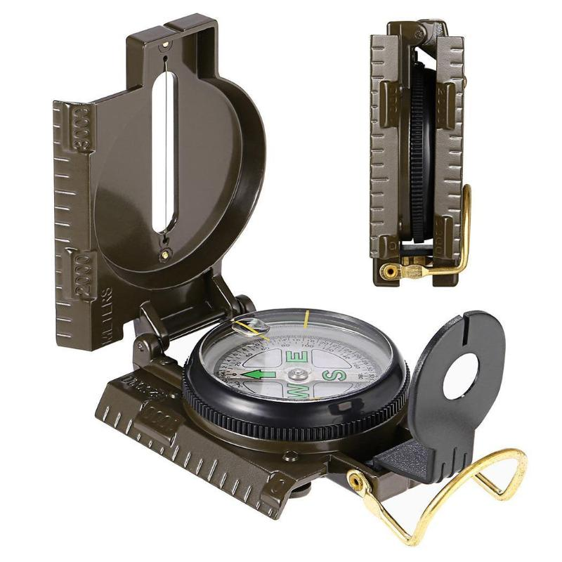 Magnetic Military Survival Compass - Camping And Outdoor Supplies