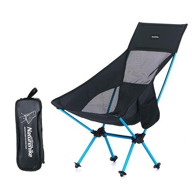 High Back Folding Picnic Chair - Camping And Outdoor Supplies