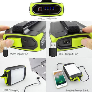 Mobile Power Bank Tent Light - Camping And Outdoor Supplies