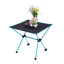 Load image into Gallery viewer, portable aluminum folding table - Camping And Outdoor Supplies