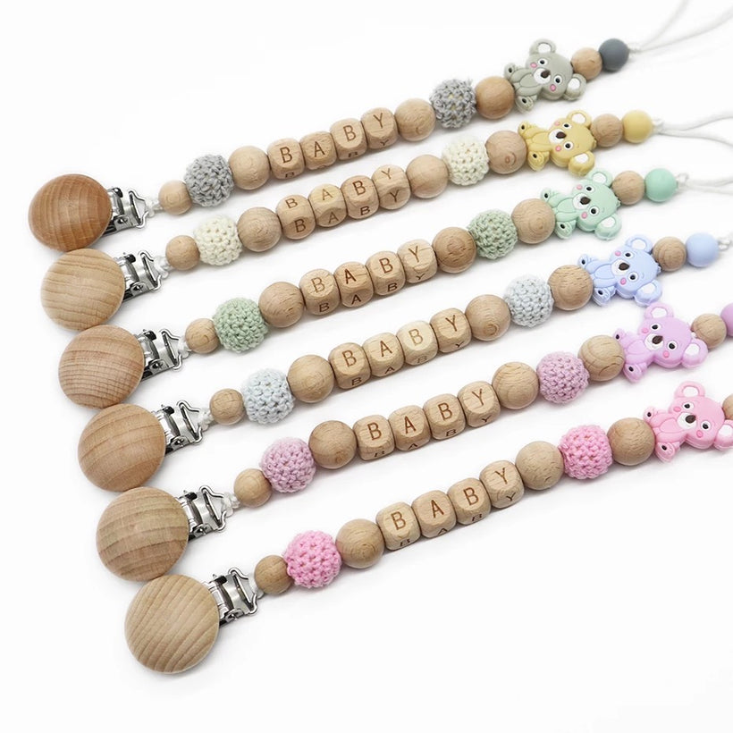 Pacifier Clip Holders & Teethers