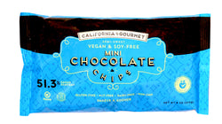 Soy free Belgian MINI chocolate chips 51.3% cocoa