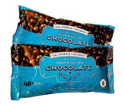 Soy Free Chocolate Chips 48%-cocoa - Vegan - Nut-Free Multi-Pack