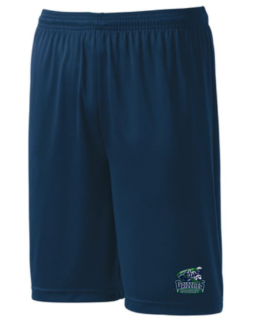 CHHS Grizzlies New Navy Performance Shorts