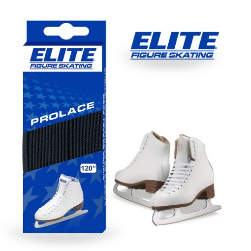 "Elite Prolace Black Length 98"" New Figure Skate Laces"