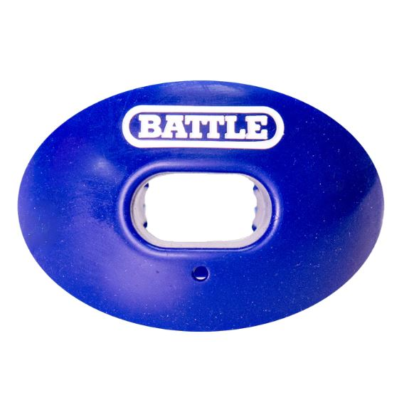 Battle Sports Oxygen Blue New Non-Flavored Mouthguard