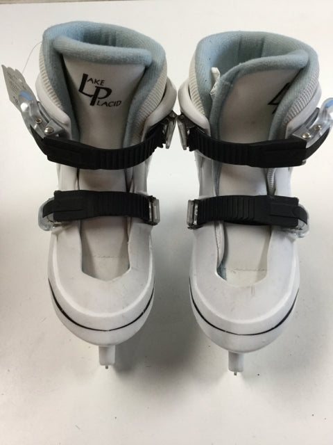 Lake Placid Nitro 7.7 Youth Skate Size Adjustable 12-1 Used Figure Skates