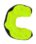 A&R TuffTerrys Neon Green Size 6-12 New Hockey Skate Guards