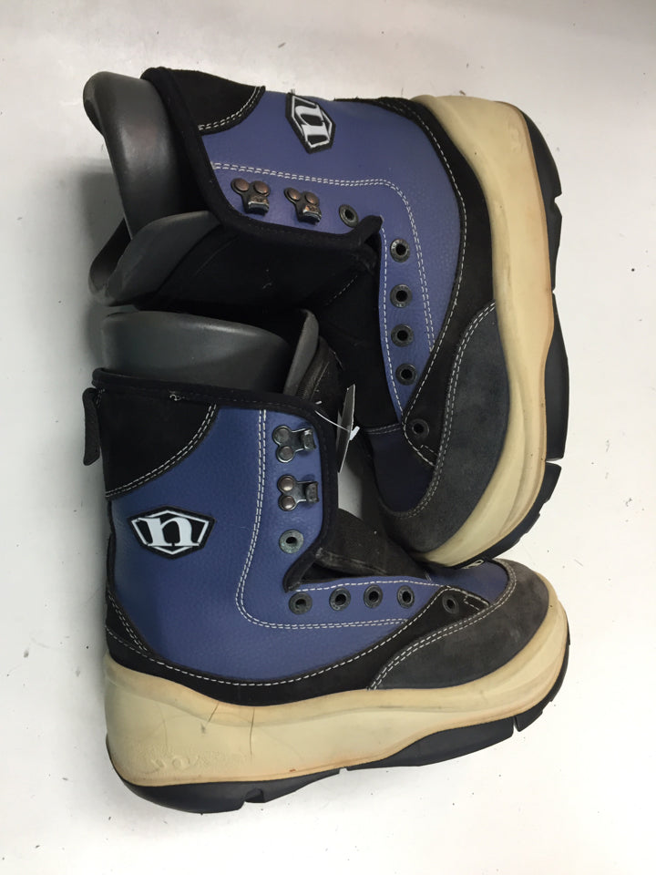 Northwave MP250 Black/Blue Mens Size Specific 6.5 Used Snowboard Boots