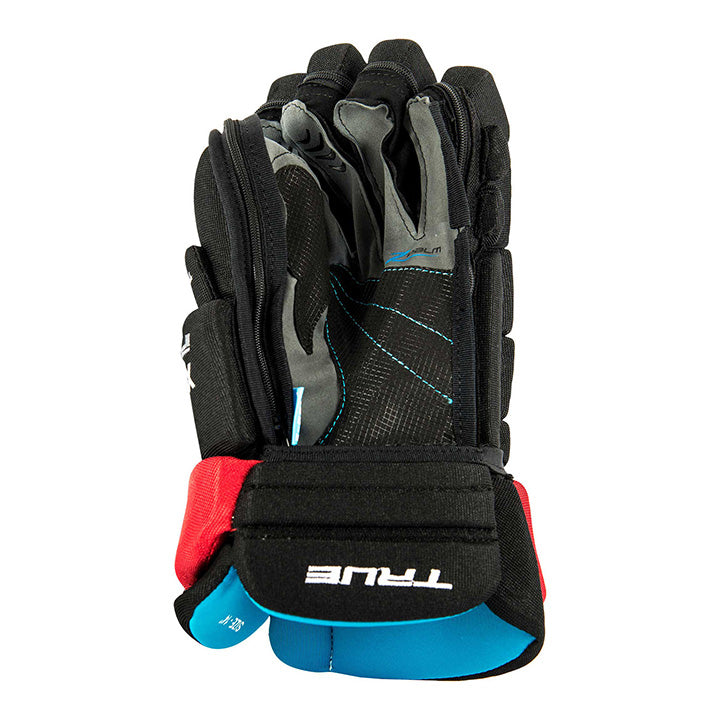 "True Z-Grip Replace Palm Black New JR Size 13"" Hockey Gloves"