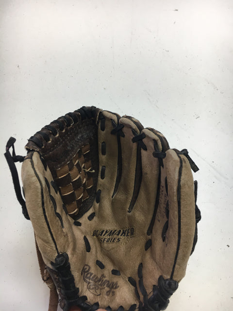 "Rawlings PM909RP Size 10.5"" RH Throw Used Baseball Glove"