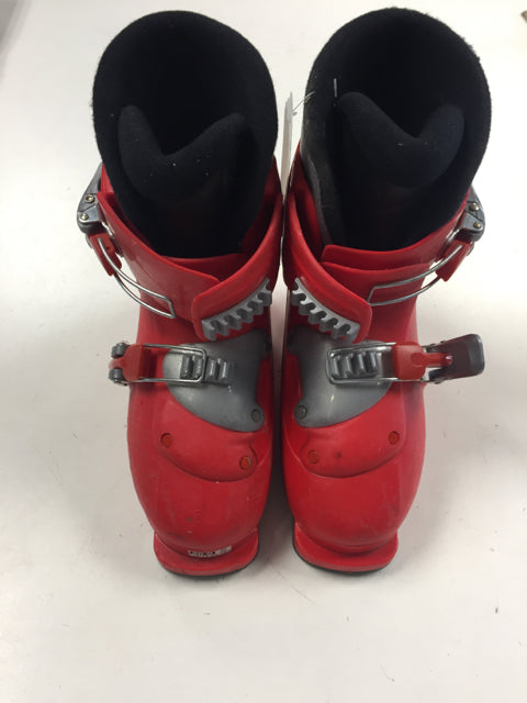 Salomon Performa T2 Red Size 247mm Used Downhill Ski Boots