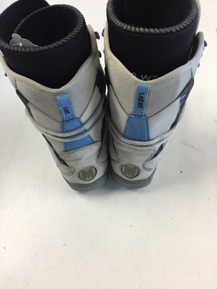 lamar White Mens Size Specific 7 Used Snowboard Boots