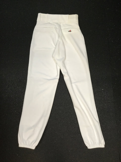 Alleson White Sr Size Specific Small Used Baseball/Softball Pants