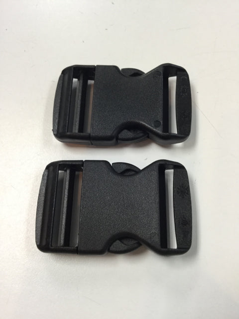 "A&R Goalie Pad Buckles 2 Pack Black Size 1.5"" New Goalie Accessories"