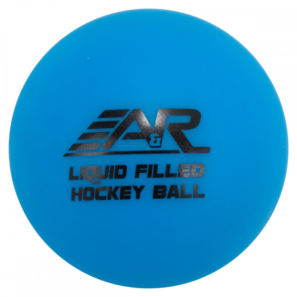 A&R Low Bounce Liquid Blue New Hockey Ball