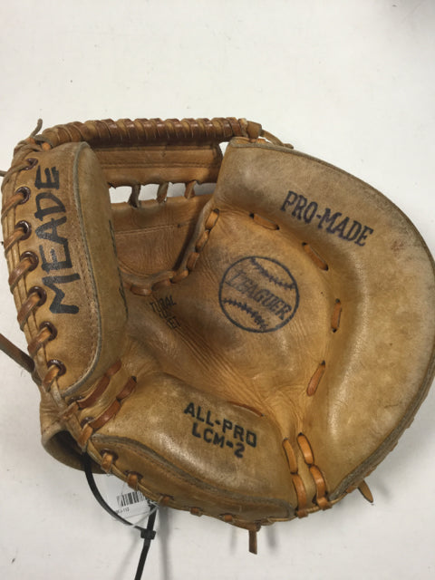 All Pro Leaguer Right Hand Used Baseball Catcher Mitt