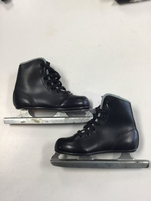 American Little Rocket Double Runner Youth 12 Used Figure Skates