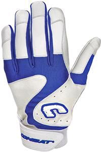 Combat Premium G3 White/Navy Adult Small New Batting Glove