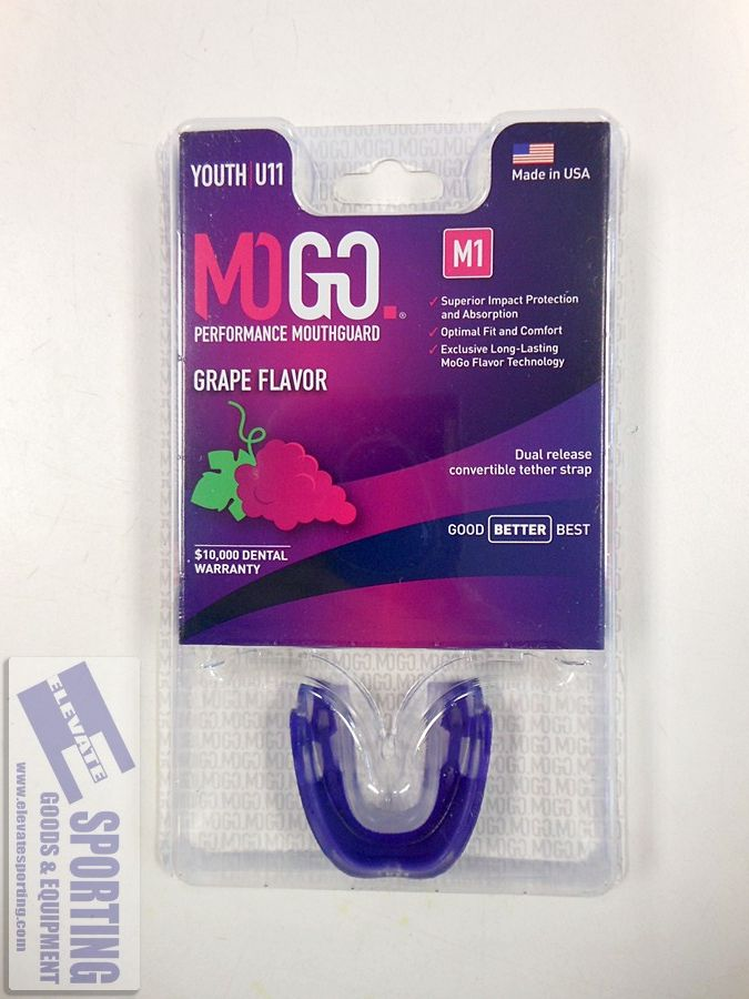 MOGO M1 Grape Youth New Flavored Mouthguard