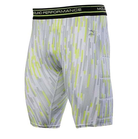Mizuno Breaker Grey Youth Medium New Sliding Shorts