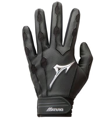 Mizuno Covert Yth. Medium Black New Batting Gloves