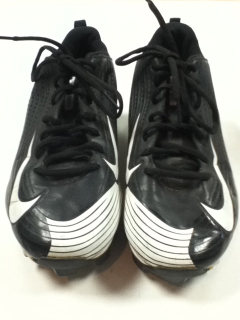 Nike Vapor Black Adult 8.5 Used Baseball Cleats