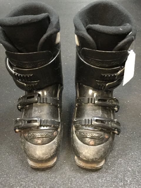 Nordica Exopower Trend 03 Black Size 7.5 Used Downhill Ski Boots