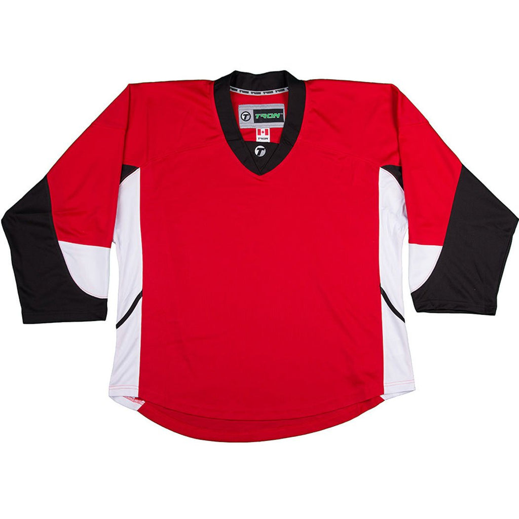 Tron DJ300 Ottawa Red New Sr. Size Medium Hockey Player Jersey