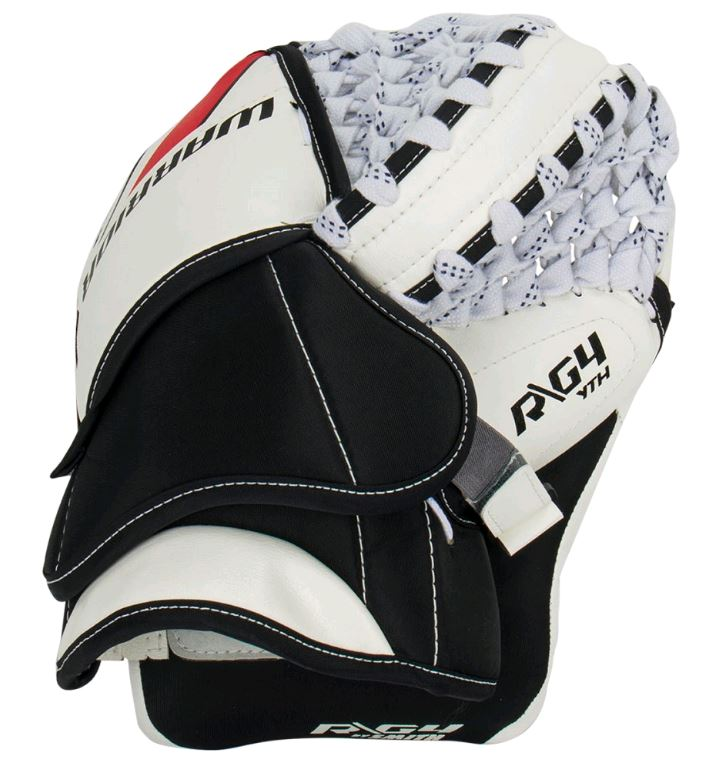 Warrior Ritual G4 WH/BK/RD Regular Int. New Hockey Goalie Glove