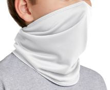Port Authority White Adult New Cloth Facemask