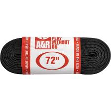 "A&R Black Length 72"" Used Figure Skate Laces"