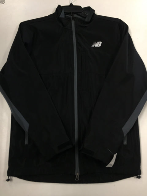 New Balance Team Black Sr. Small New Warmup Track Jacket
