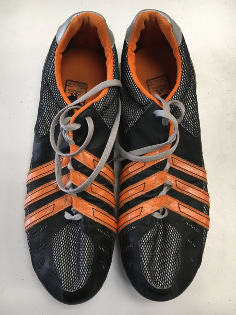 Adidas Competition Black/Orange Used Track Shoes