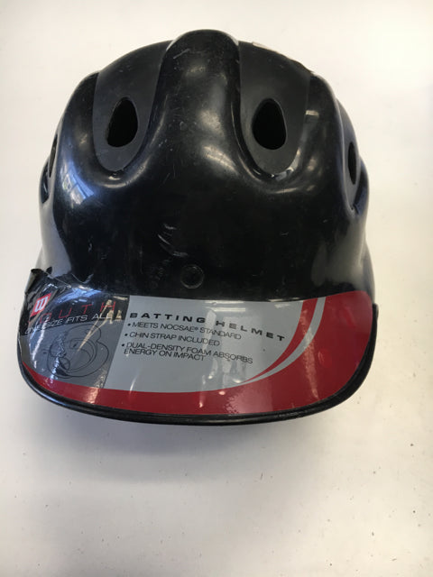 Black Sr. Used Batting Helmet