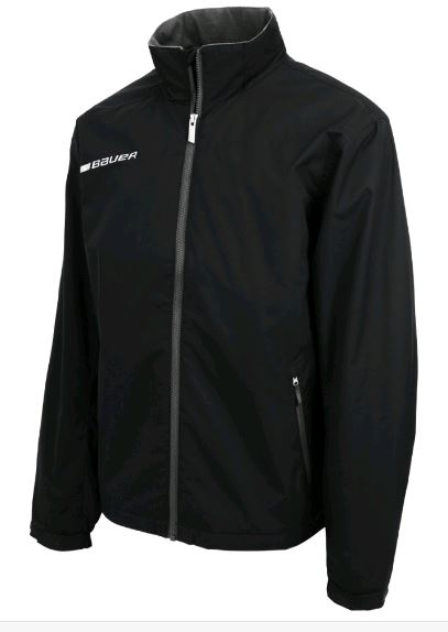 Bauer Flex New Black Sr. Size Specific XL Warmup Track Jacket