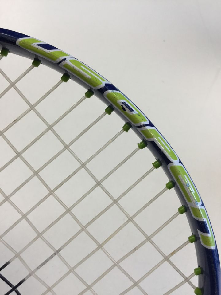 Wilson US Open Used Titanium 3 7/8 Tennis Racquet