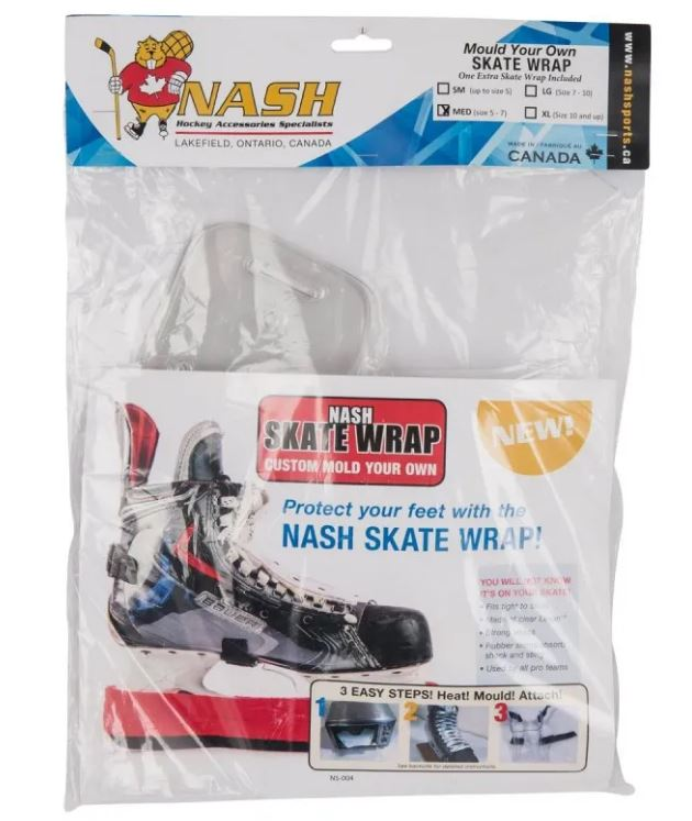 Nash Skate Wrap New Size Specific Medium Skate Accessories