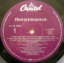 "Load image into Gallery viewer, Mantronix - Take Your Time (12"", Single) (VG) - natural selection vinyl records"